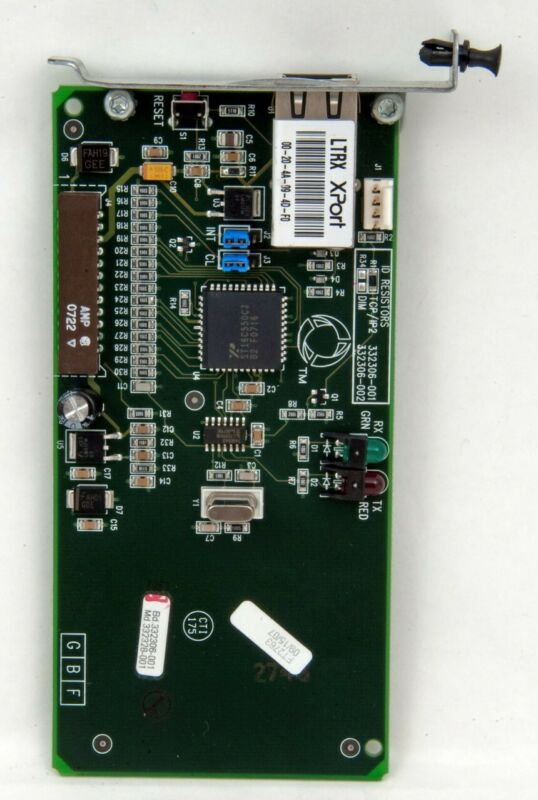 Veeder Root TLS-350 Module 332306-001 Ethernet TCP/IP CARD