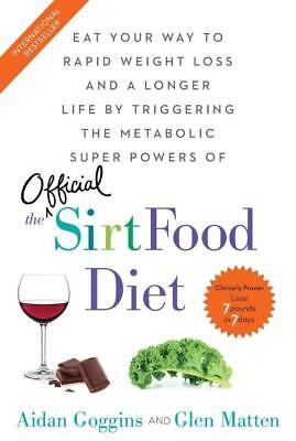 The Sirtfood Diet by Aidan Goggins and Glen Matten 🔰Fast shipping🔰