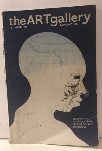 RARE THE ART GALLERY MAGAZINE 2ND AFRO-AMERICAN ISSUE FREE SHIPPING