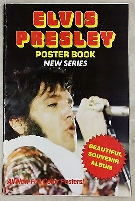 ELVIS PRESLEY POSTER BOOK (20 TOTAL) VOL. 2 PRIME PRESS 1977 & ALL FULLY INTACT