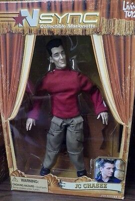 N Sync Marionette living toyz- JC Chasez