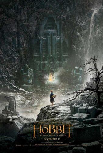 THE+HOBBIT+THE+DESOLATION+OF+SMAUG+DOUBLE+SIDED+ORIGINAL+MOVIE+film+POSTER+Bilbo