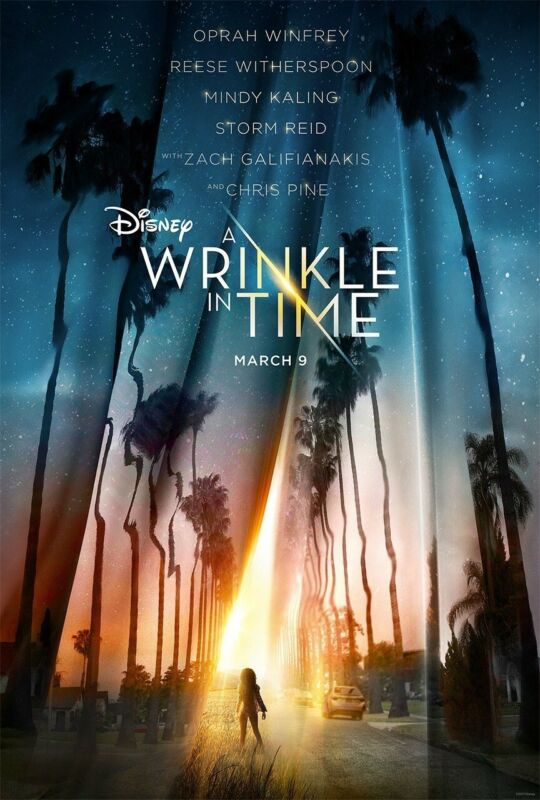 A Wrinkle In Time vg 27x40 Original D/S Movie POSTER