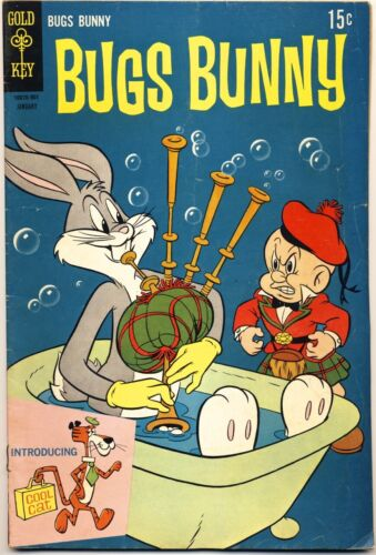BUGS BUNNY #121 1969 FN- 1ST APPEARANCE Of COOL CAT Gold Key