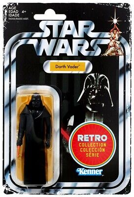 Star Wars Darth Vader Action Figure 3.75 Retro Collection 2019 A New Hope Kenner