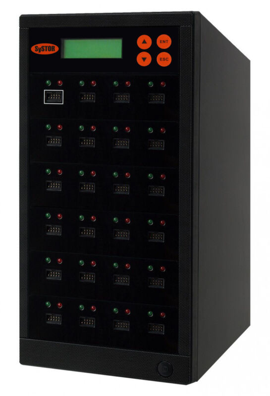 Systor 1-23 Eusb Embedded Usb Drive Duplicator Multiple Memory Card Copier/wiper