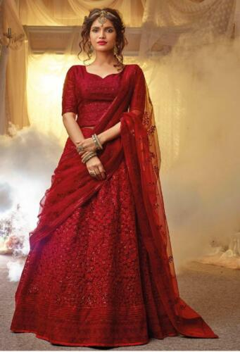 Party Lehenga Choli Indian Designer Bollywood Lehnga Wear Wedding Ethnic Bridal