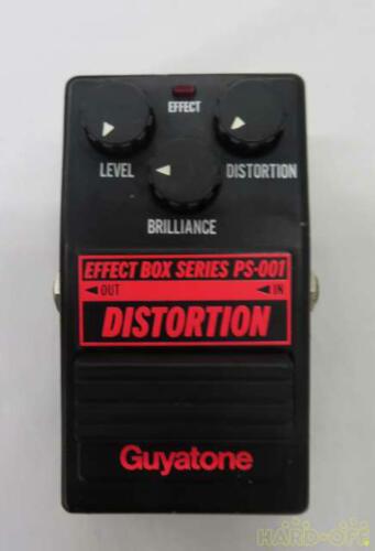 Guyatone PS-001 Distortion guitar Effect Box Series Japan Vintage Pedal