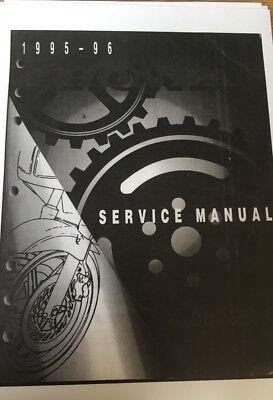HONDA CBR 600 F3 WORKSHOP SERVICE MANUAL 1995 - 1996 Paper bound copy