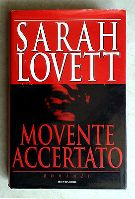 Sarah Lovett, Movente accertato, Ed. Mondadori, 1996
