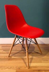 eames molded plastic chair ebay