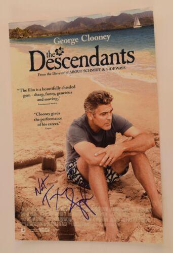 Nat Faxon & Jim Rash Signed Autographed THE DESCENDANTS 12X18 Poster COA VD
