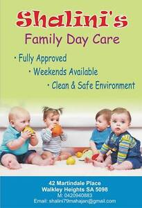 SHALINI'S FAMILY DAY CARE Walkley Heights Salisbury Area Preview