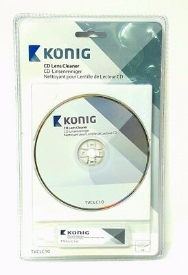 NEW CD VCD  PLAYER DISC LENS + CLEANING FLUID HEAD DIRT CLEANER RESTORE KIT