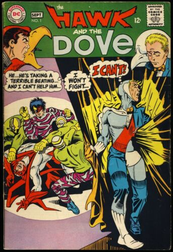 THE HAWK AND THE DOVE #1 1968 VG/FN DC Comics STEVE DITKO