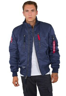 Alpha Industries Jacke Herren Winterjacke RBF Jacket new navy L blau