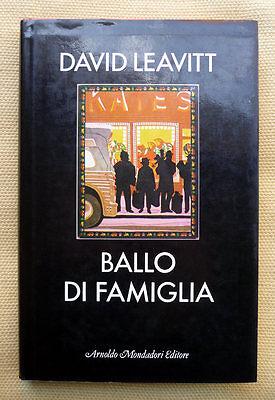 David Leavitt, Ballo di famiglia, Ed. Mondadori, 1986