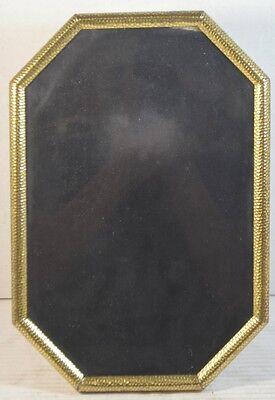 Vintage Brass Octagon Photo Frame