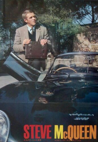 STEVE MCQUEEN THOMAS CROWN AFFAIR Japanese AD movie poster 1970 11X16