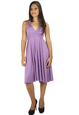 Magic Wrap Kleid (Dress Wrap Magic Transformer Dress African Violet EV500 Medium Size 0-16)