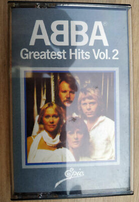 Rare ABBA Greatest Hits Volume 2 Double Play Cassette Tape Audio 1978 14 Songs