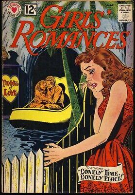 Dc Comic Girls (GIRLS' ROMANCES #82 1962 FN DC Comics JOHN ROMITA TUNNEL OF LOVE Cover)