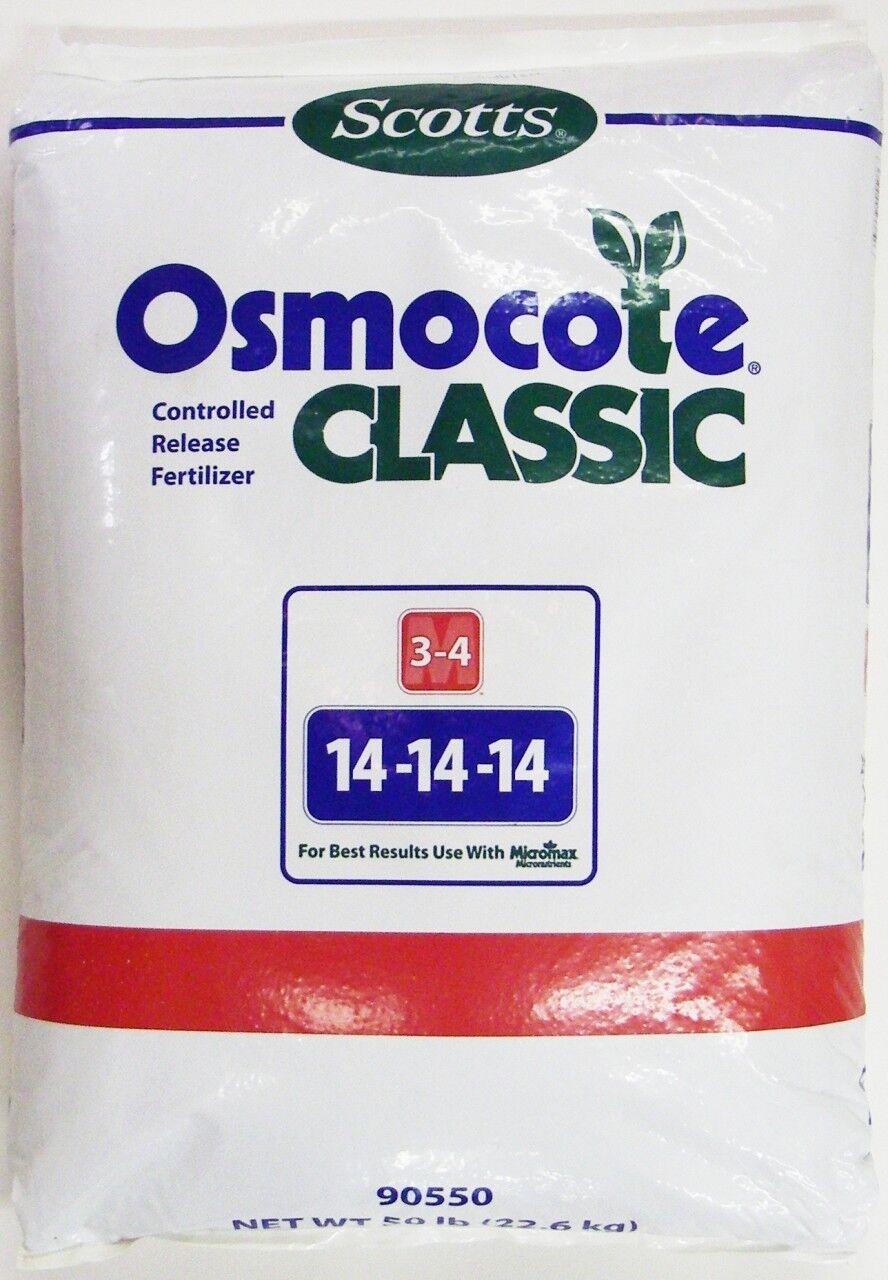 Scotts Osmocote Classic Controlled Release Fertilizer 14-14-