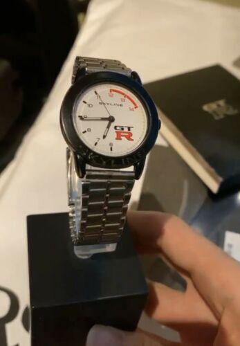 Nissan Altia Nismo White Skyline GTR R33 Cluster Watch Rare Jacket R32 R34 R35
