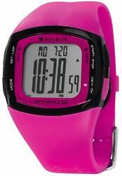 Soleus ' Pulse Rhythm' Quartz Plastic Fitness Watch, Color:Pink (Model: SH010-61