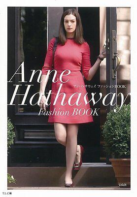Photo book All about Anne Hathaway Fashion Style over 200 snap photos F/S
