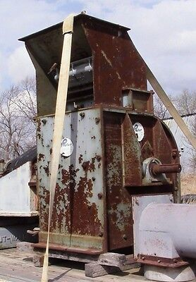 Prater Hammer Mill Model G7 w/ 50 HP motor USA Grain Sawdust Woodchip grinder