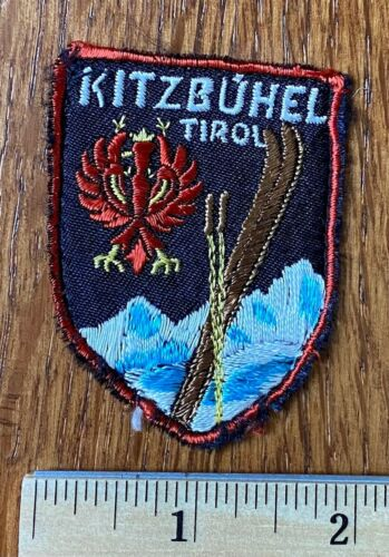 Vintage Ski Patch ~ Kitzbuhel, Tirol Austria