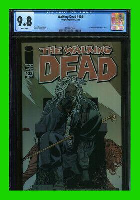 Walking Dead 108   1ST APPEARANCE EZEKIEL AND SHIVA!! EXTREME HIGH GRADE!!