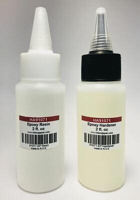 [HITENA] Rod Finish Epoxy Resin & Hardener (4 oz) - Non-Cracking Formula