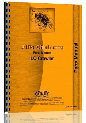 Allis Chalmers Lo Crawler Parts Manual