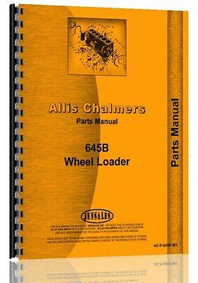 Allis Chalmers 645 Wheel Loader Parts Manual Ac-p-645b Wl