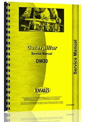 Caterpillar Dw20 Tractor Service Manual