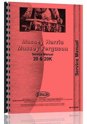 Massey Harris 20 20k Tractor Service Manual 20 Tractor 20k Tractor