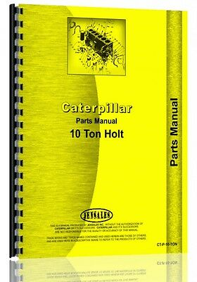 Caterpillar 10-ton Crawler Parts Manual 1923