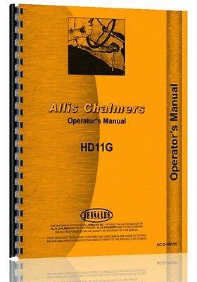 Allis Chalmers Hd11g Crawler Operators Manual Sn 6427 - 10000