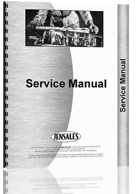 International Harvester 186 Planter Service Manual