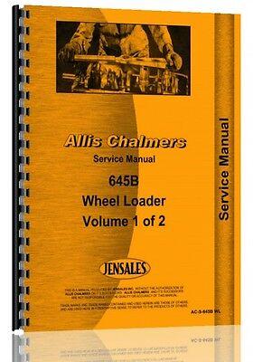 Allis Chalmers 645b Wheel Loader Service Manual