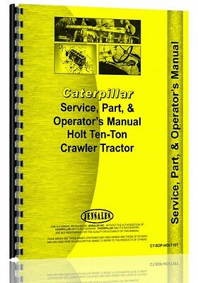 Caterpillar 10-ton Crawler Service Manual 1917