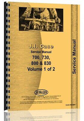 Case 700 800 Series Tractor Service Manual Ca-s-700 800