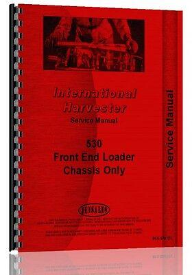 International Harvester 530 Front End Loader Service Manual Ih-s-530 Fel