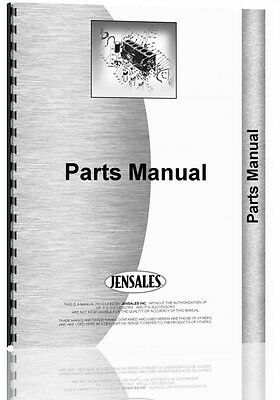 Caterpillar D6c Crawler Parts Manual  S N 17R1 17R464