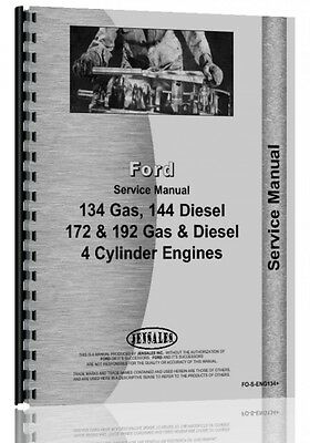 Ford 134 144 172 192 Engine Service Manual Fo-s-eng 134