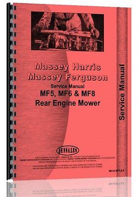 Massey Ferguson 6 Lawn Garden Tractor Service Manual