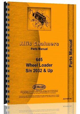 Allis Chalmers 645 Wheel Loader Parts Manual