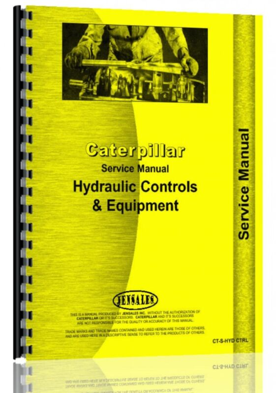 Caterpillar 40 41 Hydraulic Cylinders Service Manual